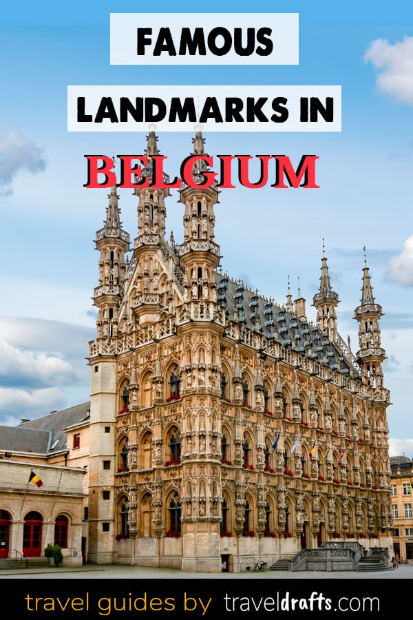 Famous landmarks in Belgium