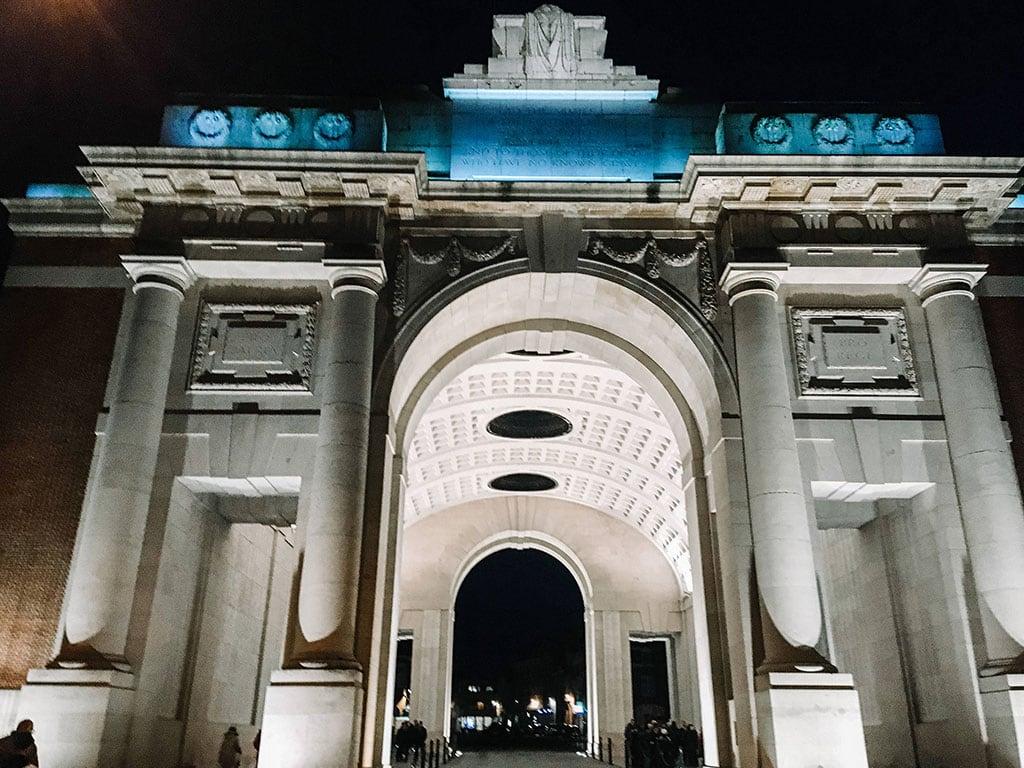 Beautiful landmarks in Belgium