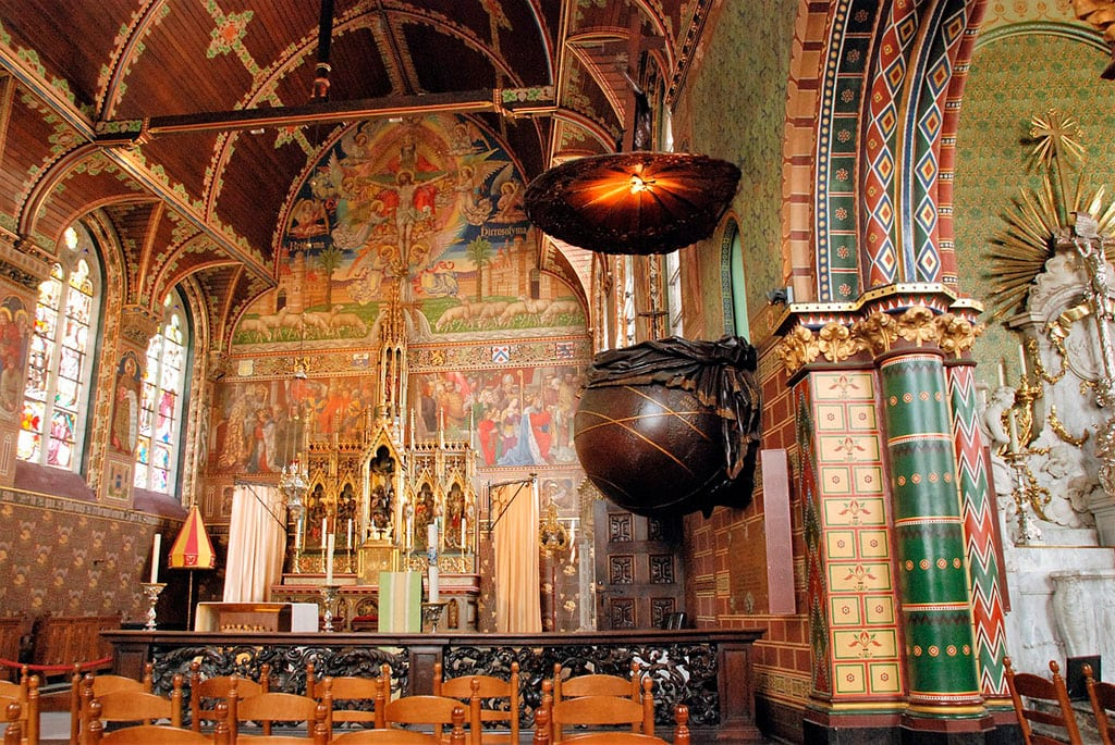 Interior of the Basilica of the Holy Blood