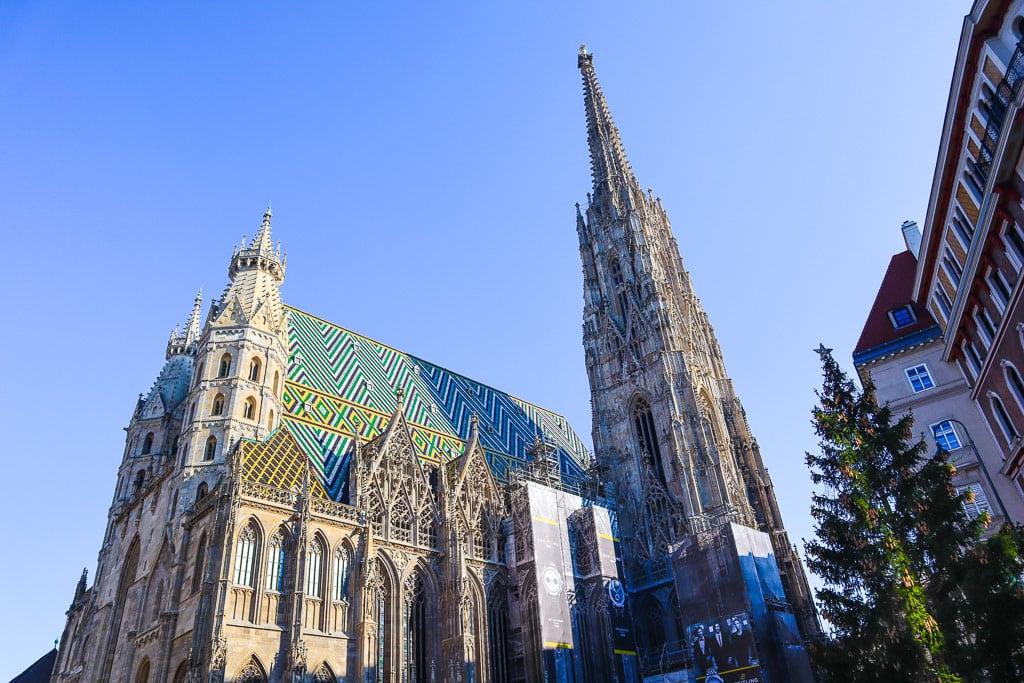 Beautiful landmarks in Austria