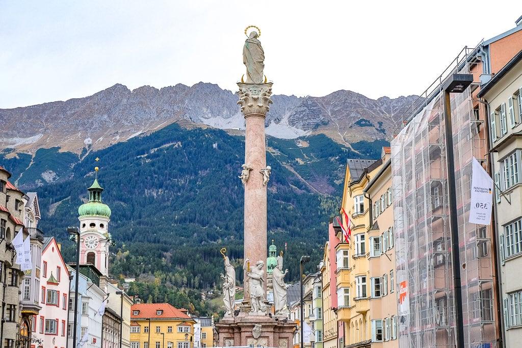 Best known landmarks in Austria