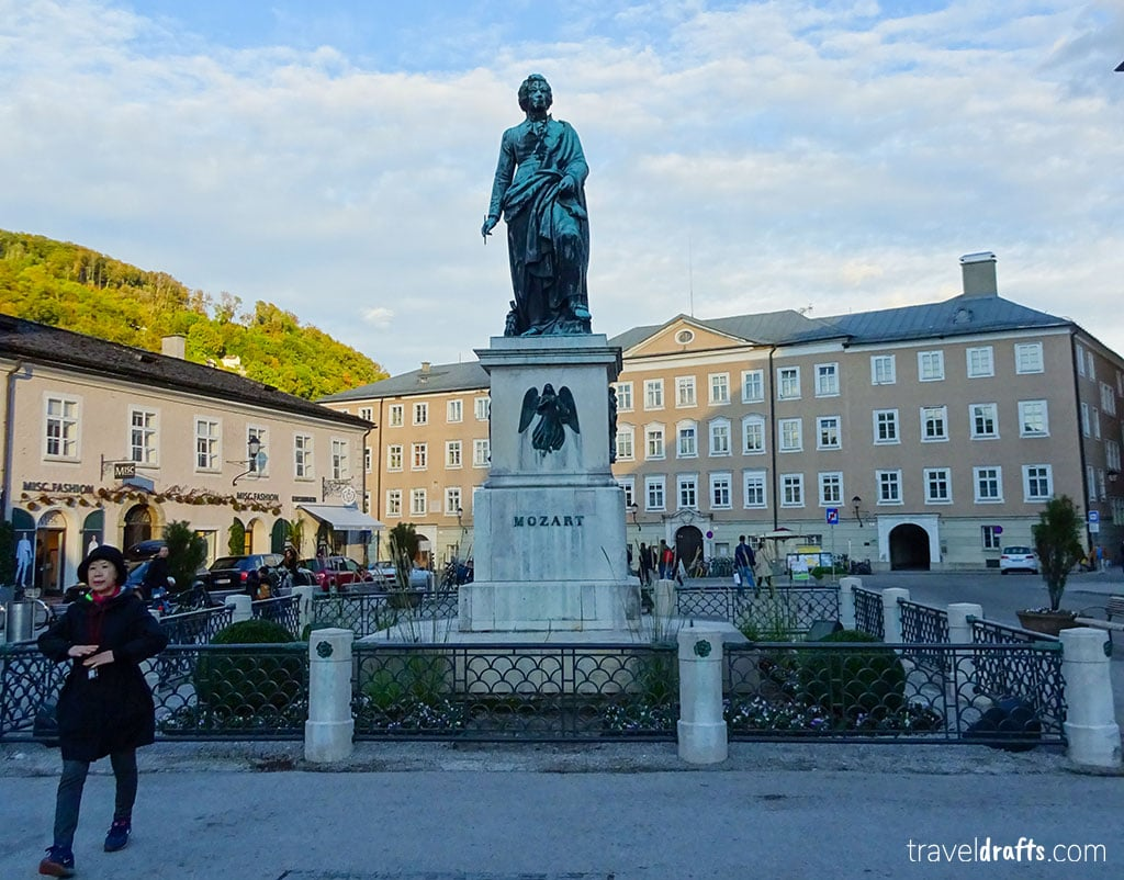 statue of mozart salzburg What is Austria Famous for?
