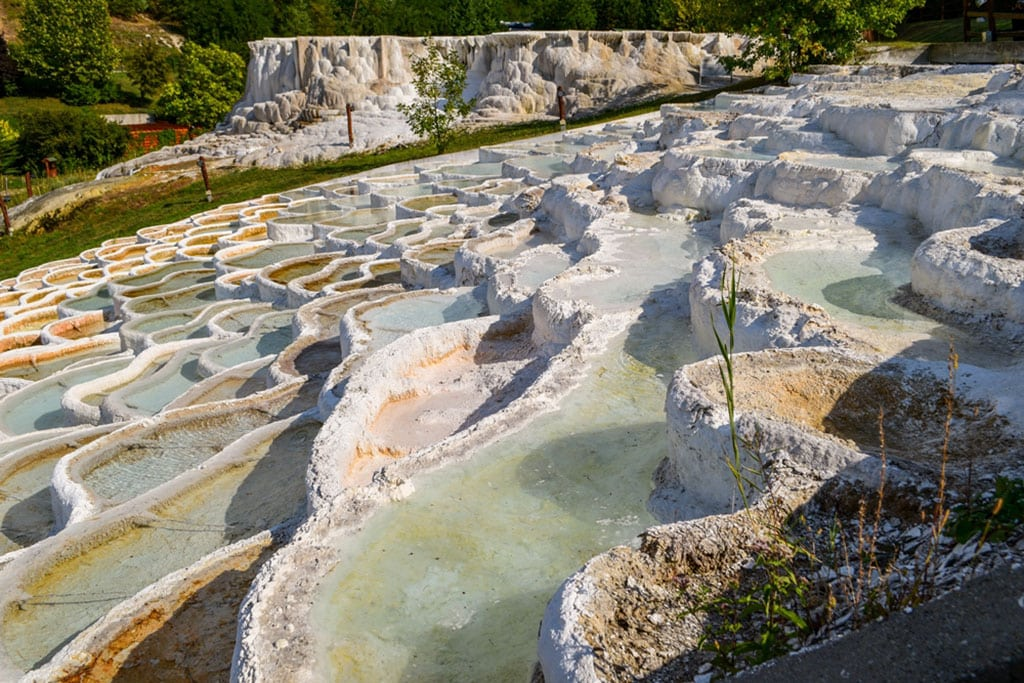 Natural landmarks in Hungary