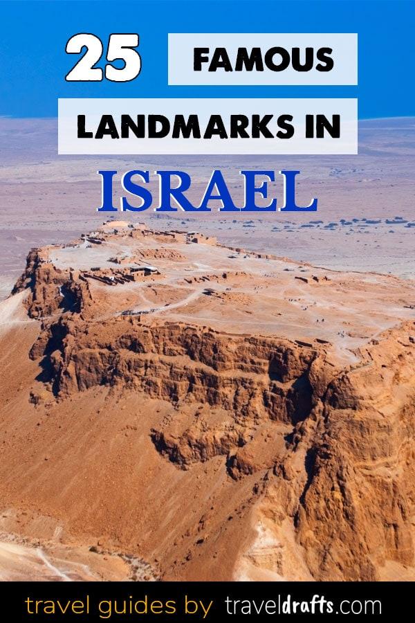 25 famous landmarks in Israel