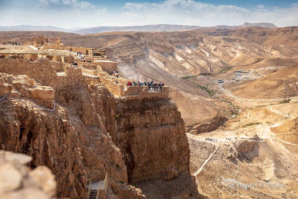 Masada, an important Jewish landmark
