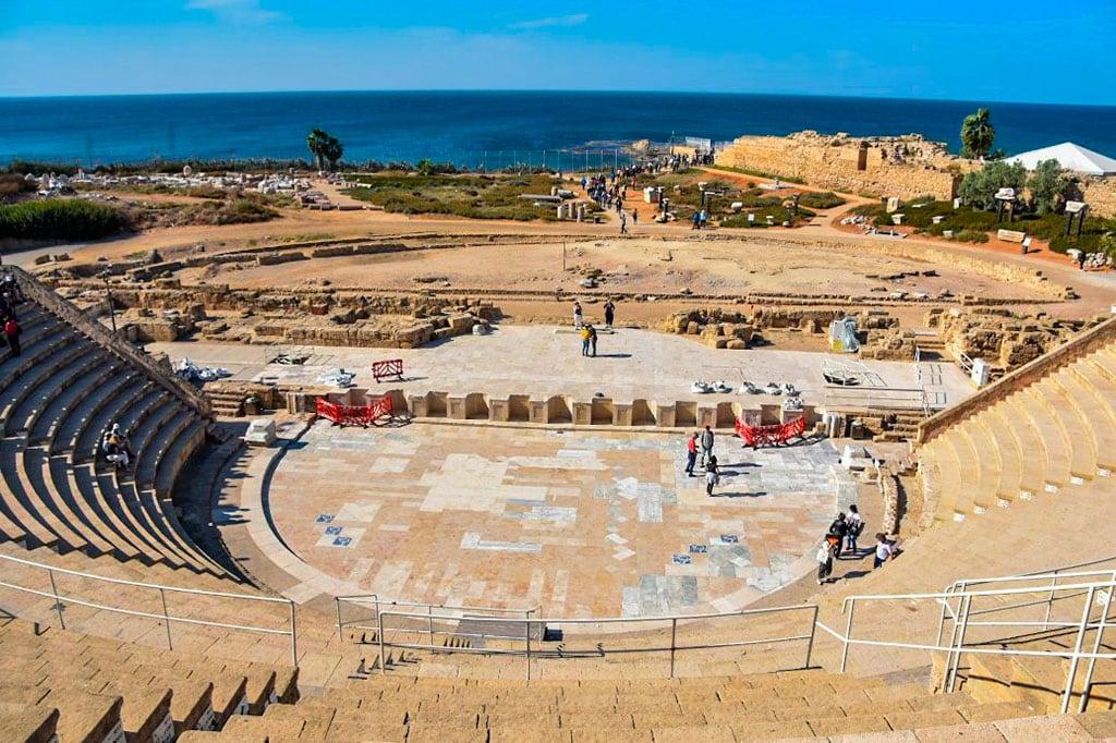 Caesarea Marittima National Park is a fabulous landmark of Israel