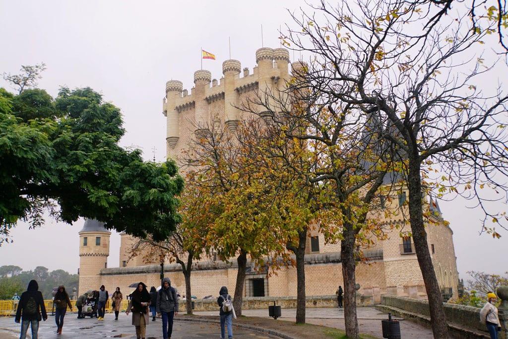 Charming Segovia Castle - Famous Spanish Landmarks