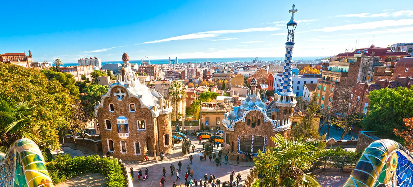 Famous landmarks in Spain