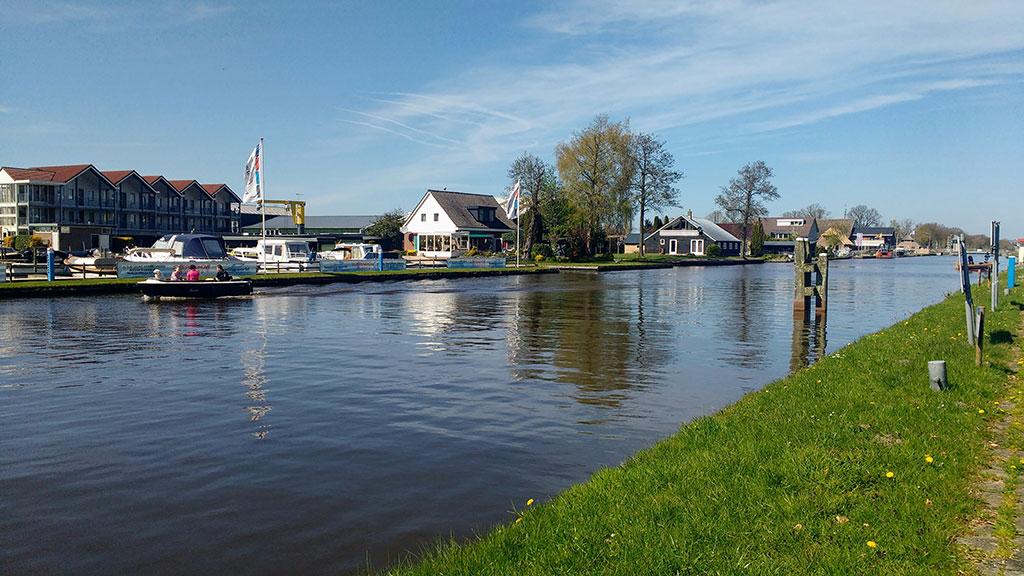 Beautiful landmarks in the Netherlands