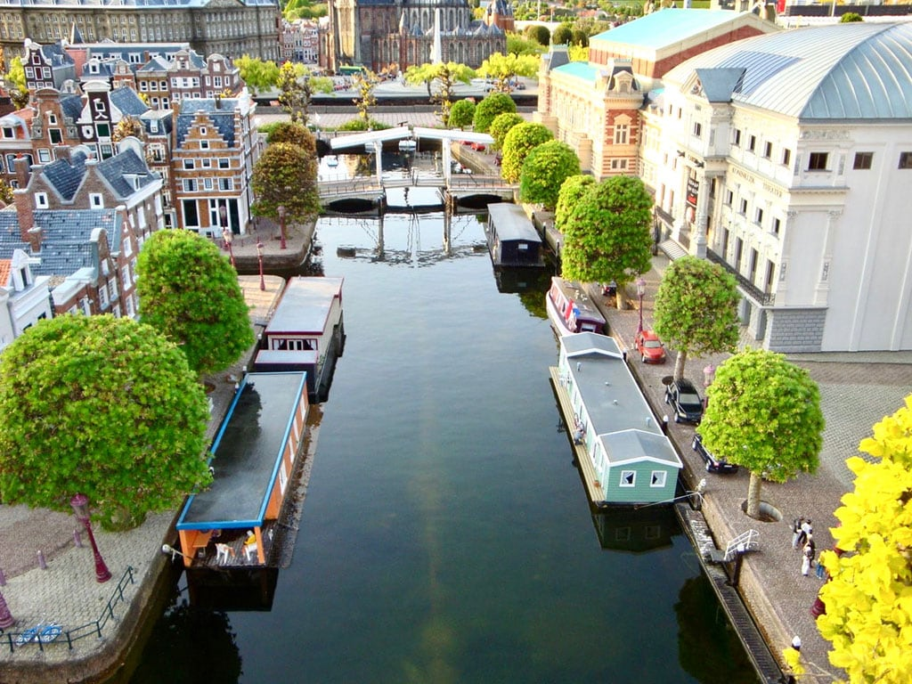 Madurodam - a destination where you can see some of the famous landmarks in the Netherlands