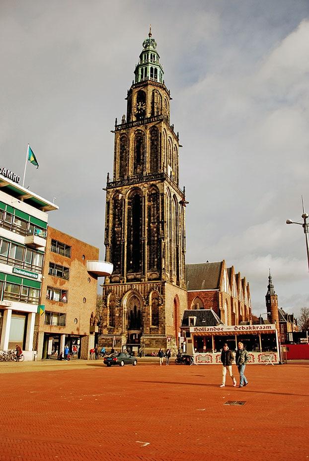 MartiniToren Groningen NL 20 Famous Landmarks in The Netherlands