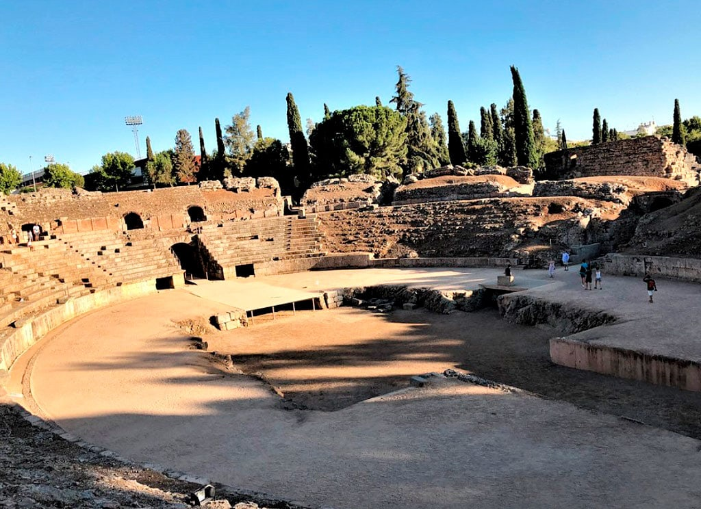 Merida Amphitheatre Leisurely Drives 25 Famous landmarks in Spain you need to visit
