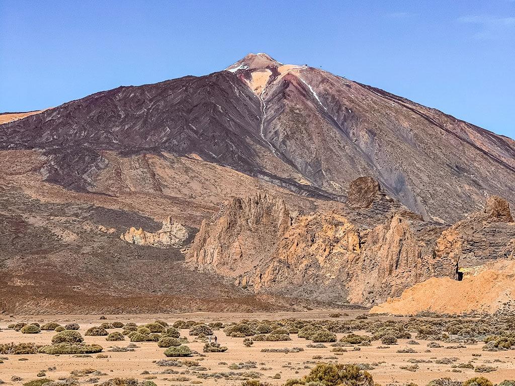 Mount Teide volcano in Tenerife