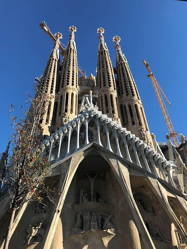Sagrada Familia of Barcelona is one the most famous landmarks in Spain