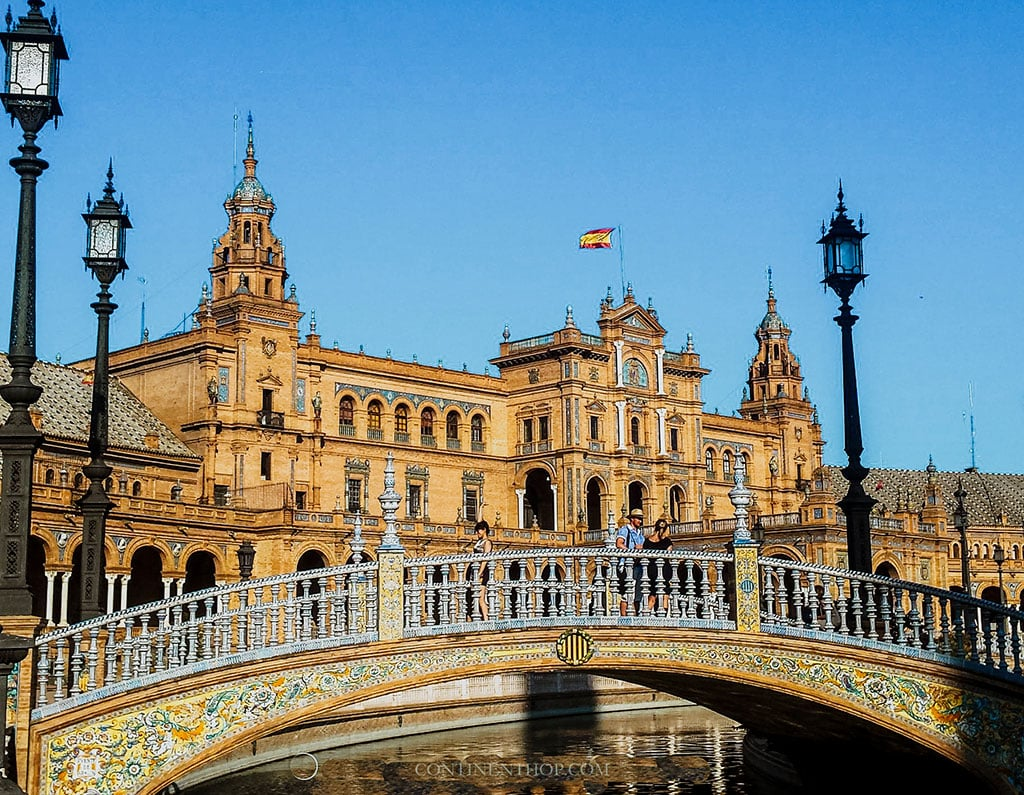 Plaza De Espana Sevilla 25 Famous landmarks in Spain you need to visit