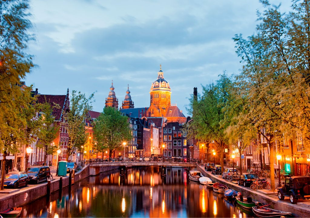Well known things about Amsterdam