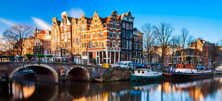 What is Amsterdam famous for