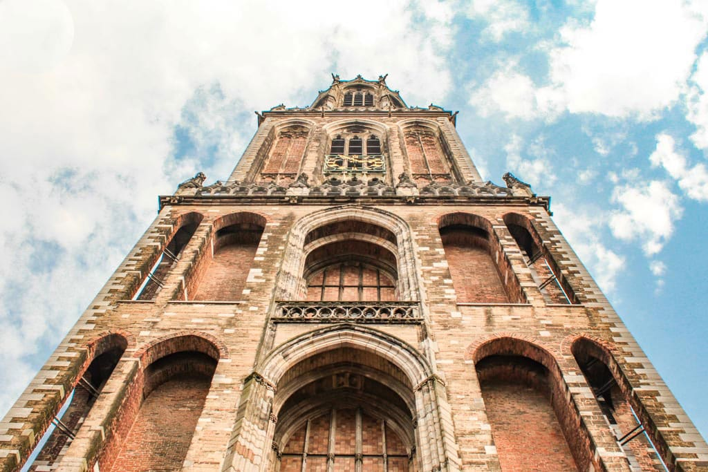 dom tower utrecht mapsnbags 20 Famous Landmarks in The Netherlands