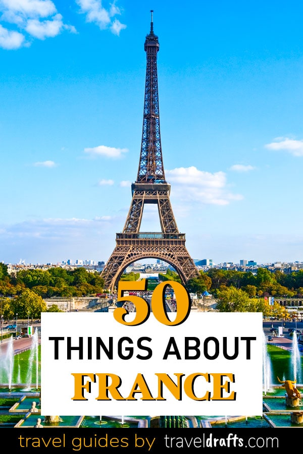 50 Things about France
