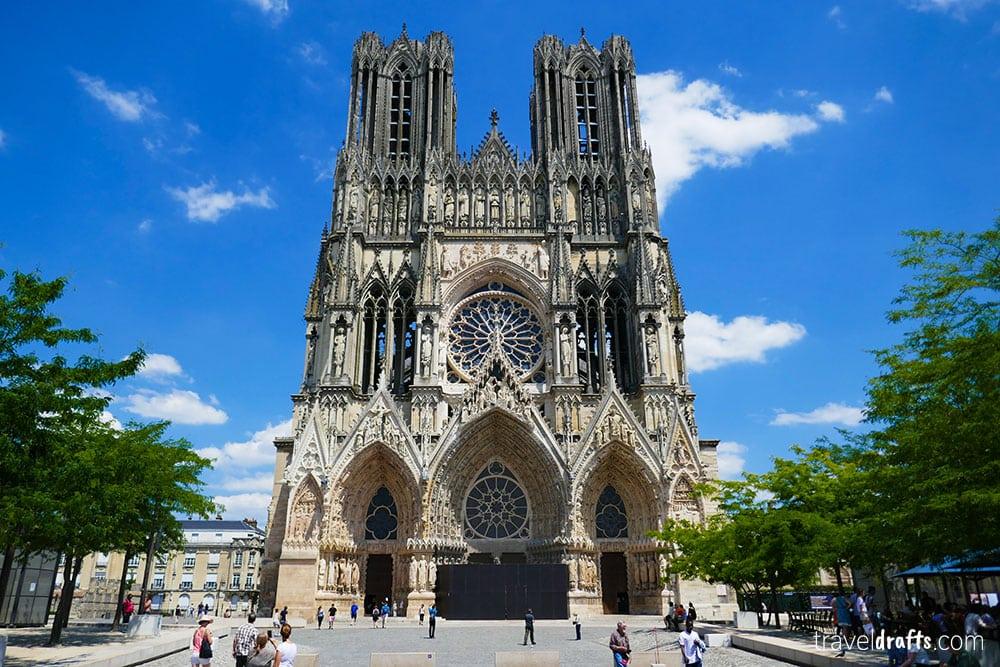 Cute landmarks in France