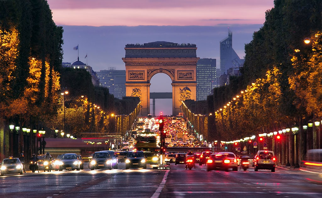 well known landmarks in France