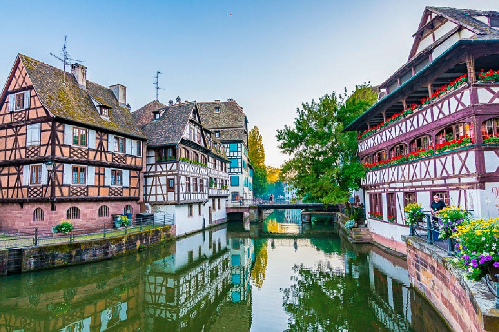 Beautiful attractions in France