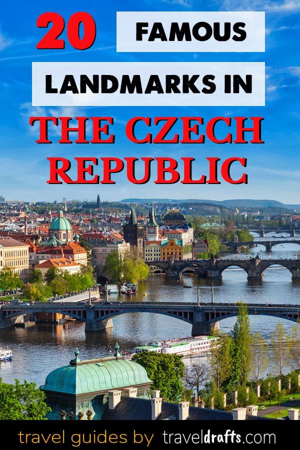 Famous landmarks in the Czecch Republic