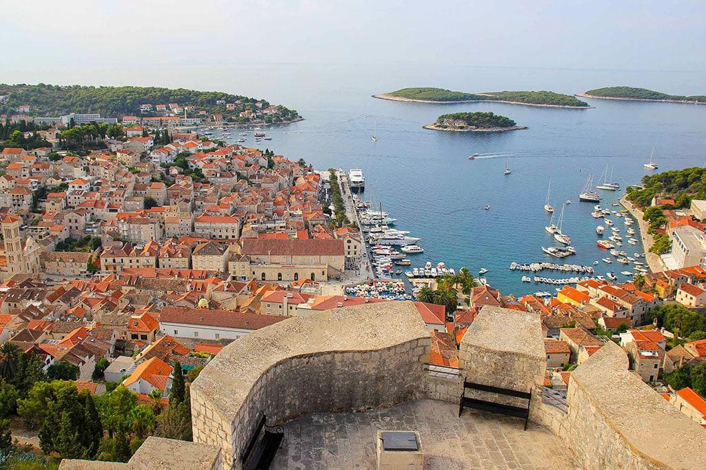Cool landmarks in Croatia