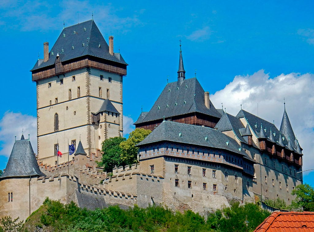 Karlstejn castle Czech Republic 20 Famous Landmarks In the Czech Republic