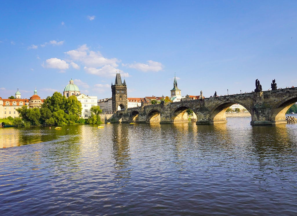 Charles Bridge, one of the best landmarks in the Czech Republic