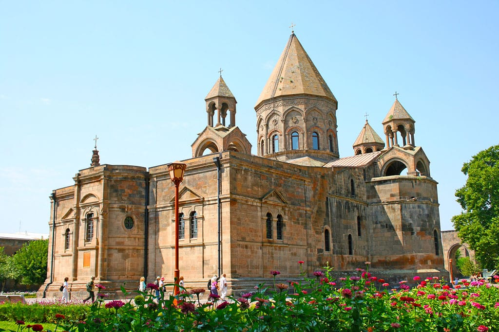 Etchmiadzin Cathedral Armenia What is Armenia famous for?