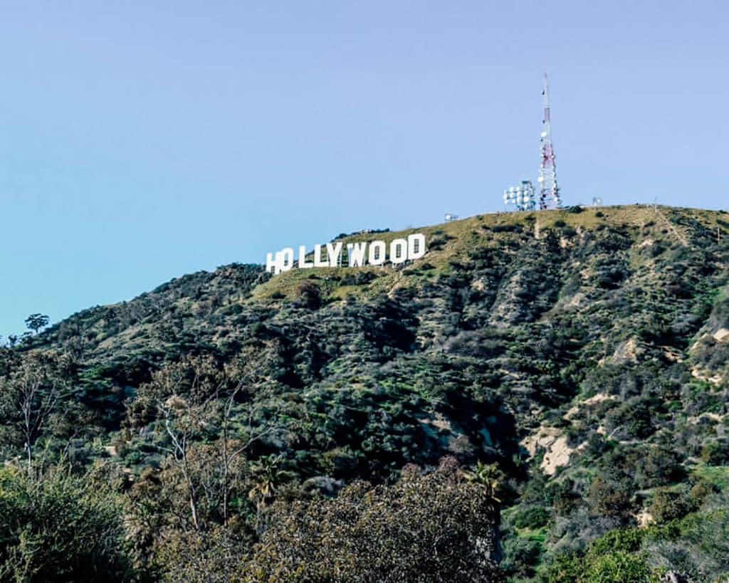 Famous landmarks in California