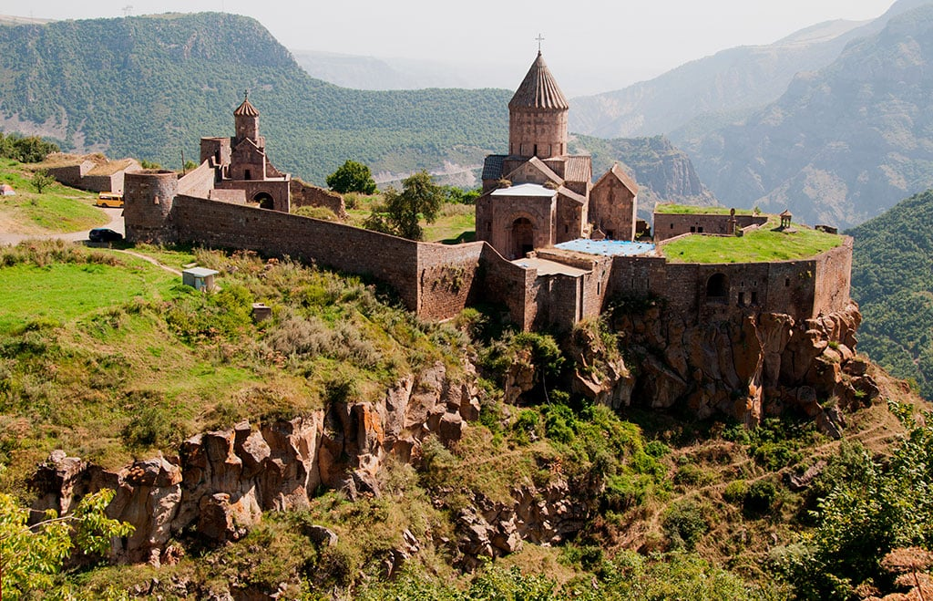 Most extraordinary landmarks in Armenia