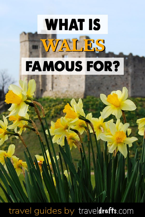 what is wales famous for