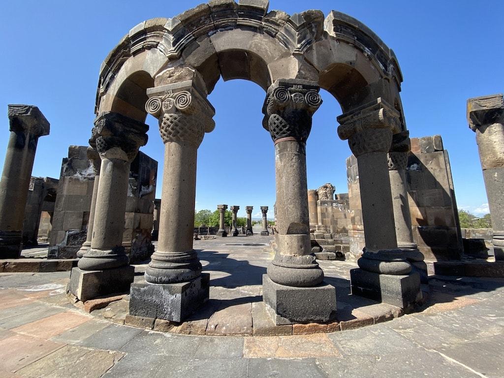Well known landmarks in Armenia