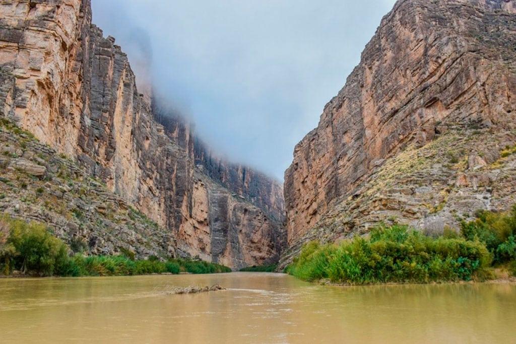 Rio Grande River in Big Bend National Park