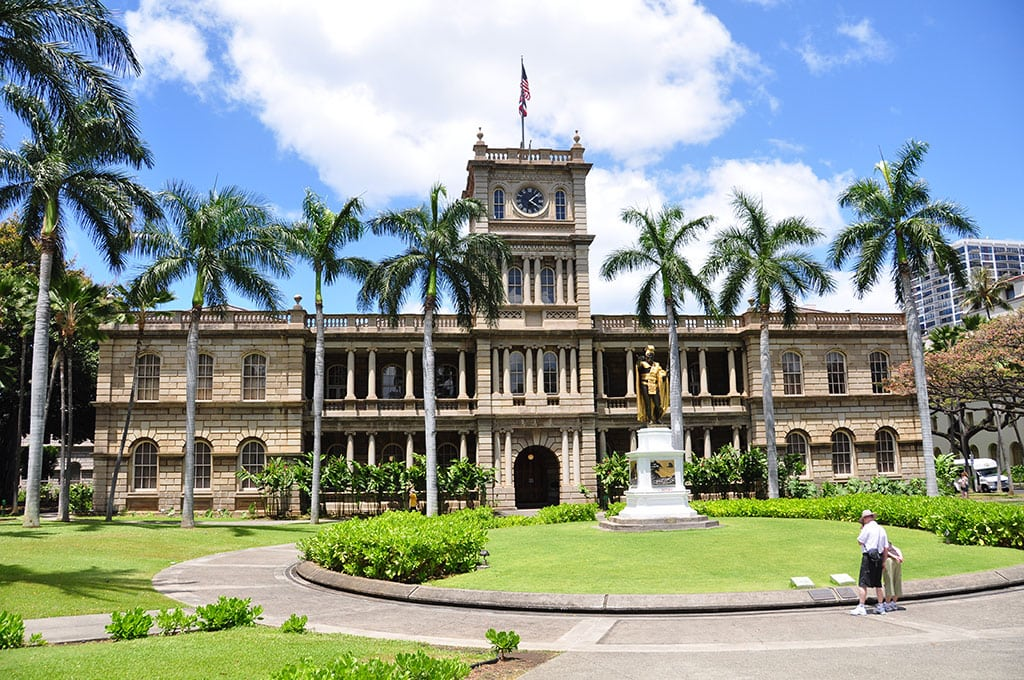 One of the most famous landmarks in Hawaii