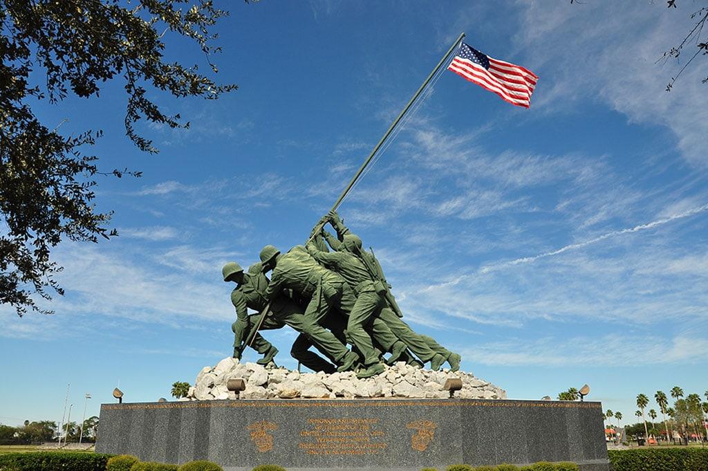 Iwo Jima Monument at MMA in Harlingen Texas Landmarks 17 Famous Landmarks in Texas