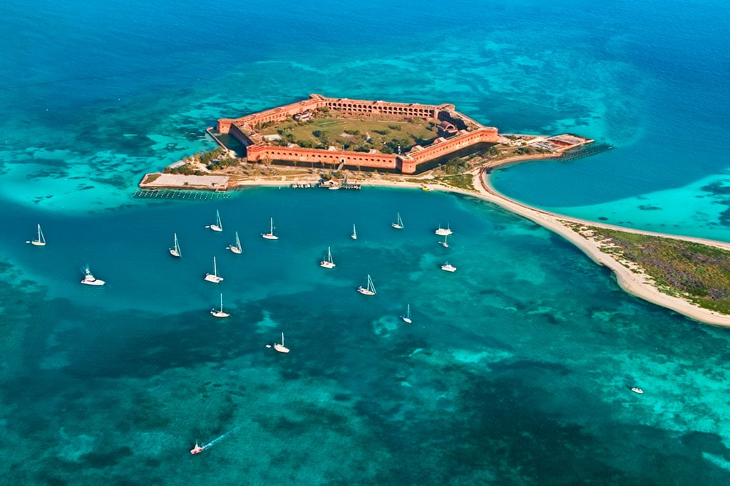 dry tortugas national park fort jefferson Florida 18 Famous landmarks in Florida you can't miss