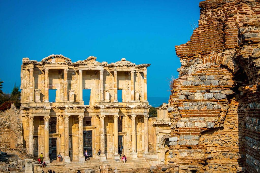 Ephesus Ruins, ancient landmarks in Turkey