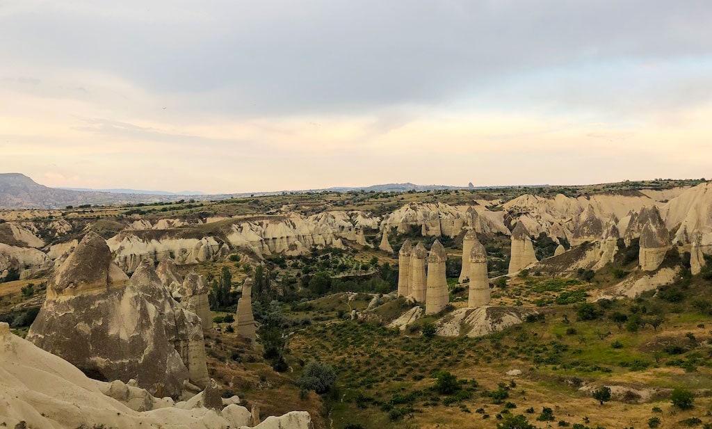 Fairy Chimneys in Cappadocia, a natural landmark in Turkey