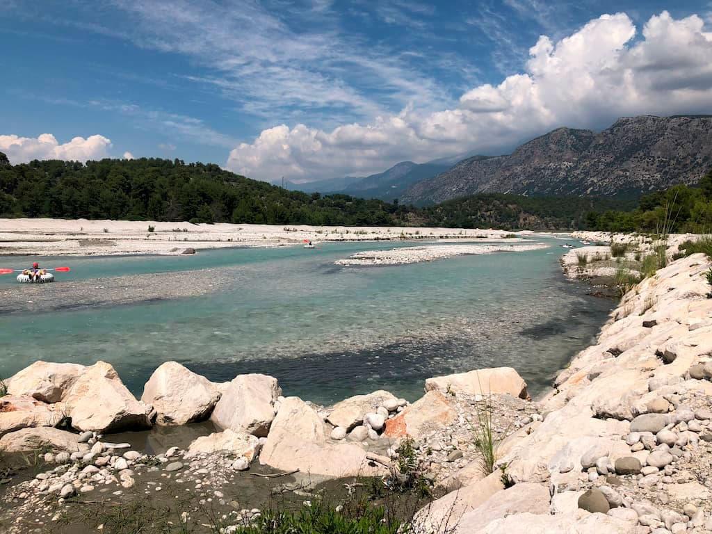 Natural landmarks in Turkey