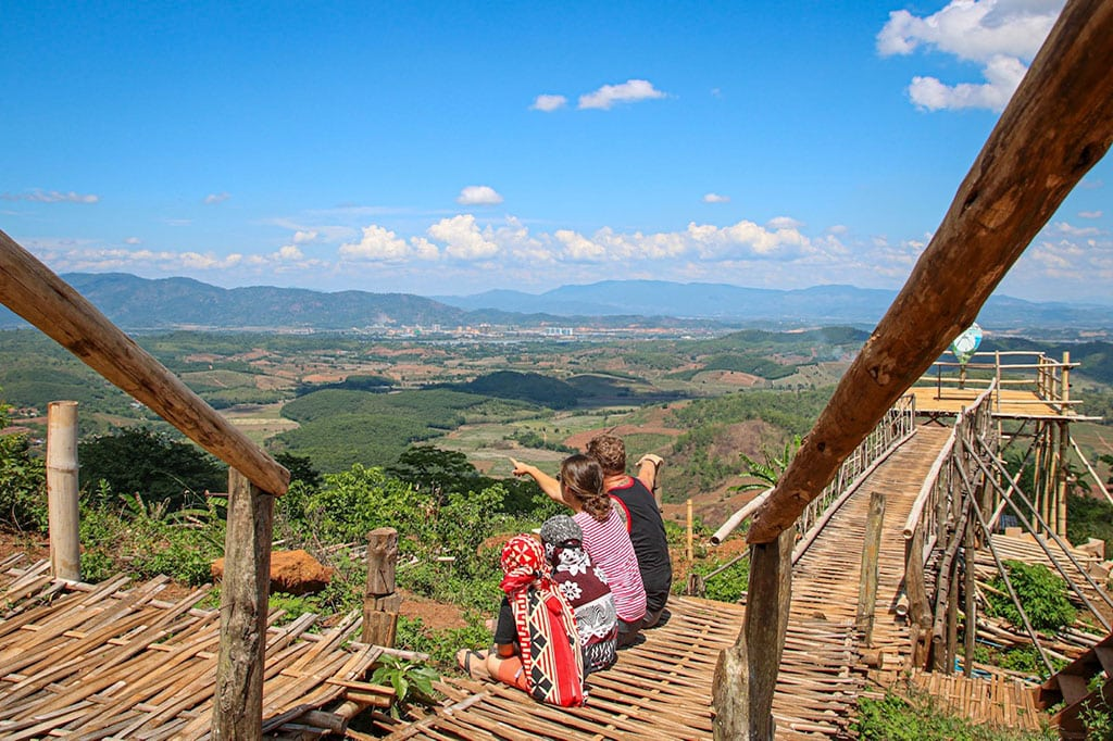 Northen Thailand famous landmkars
