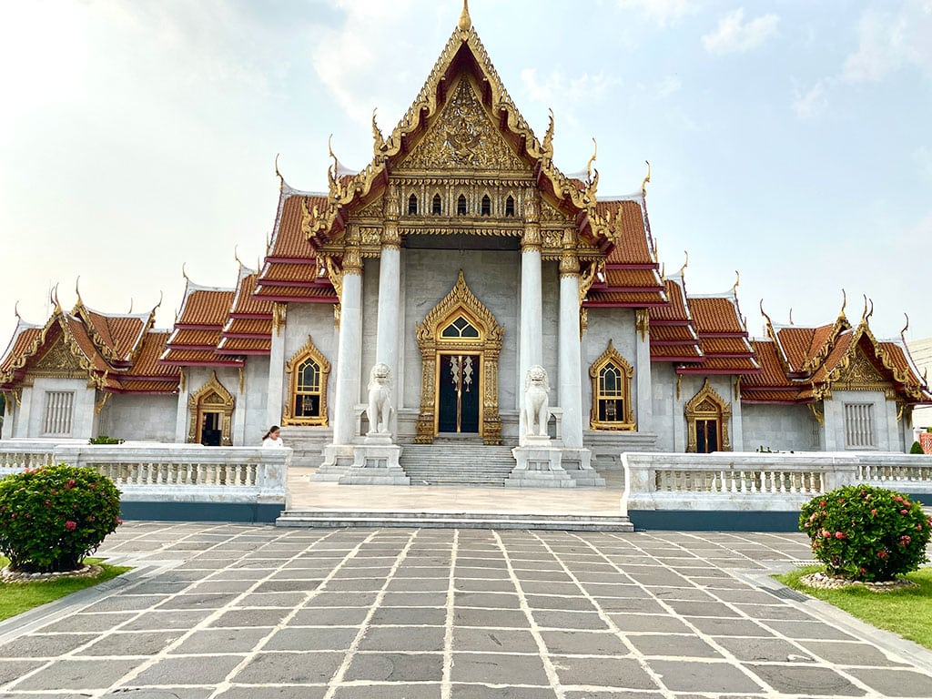 wonderful Wat Benchamabophit