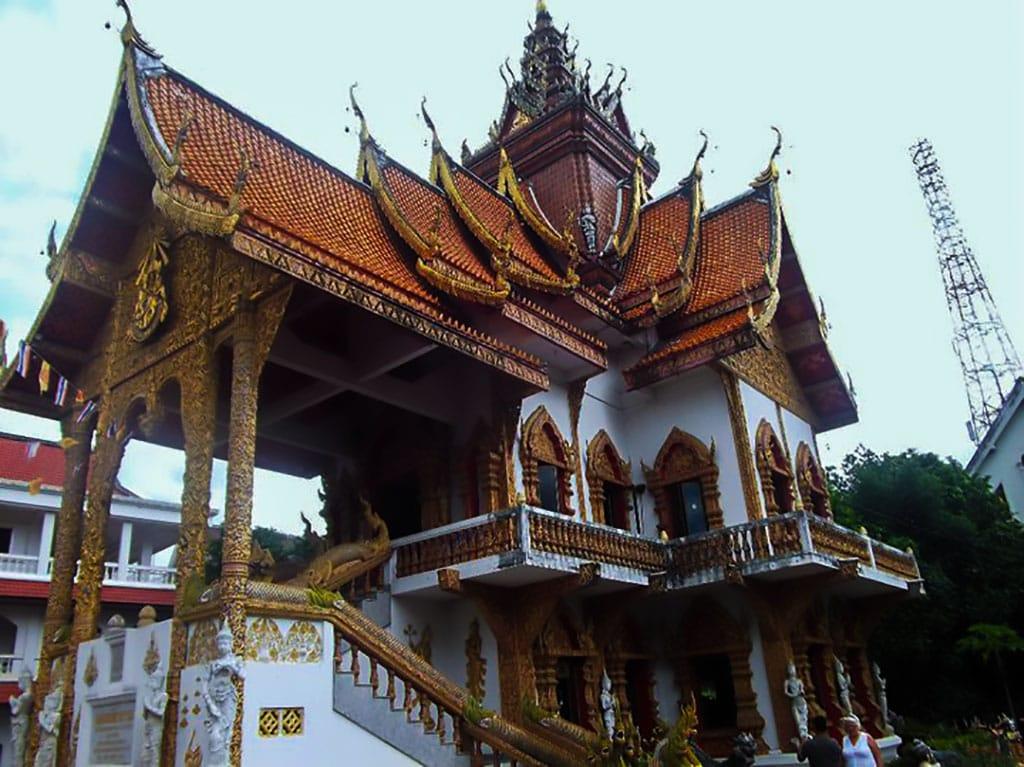 Chiang mai famous landmarks - Wat buppharram
