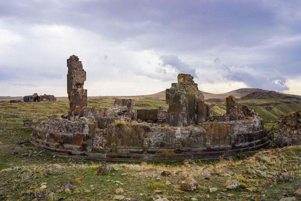 Landmarks in eastern Turkey