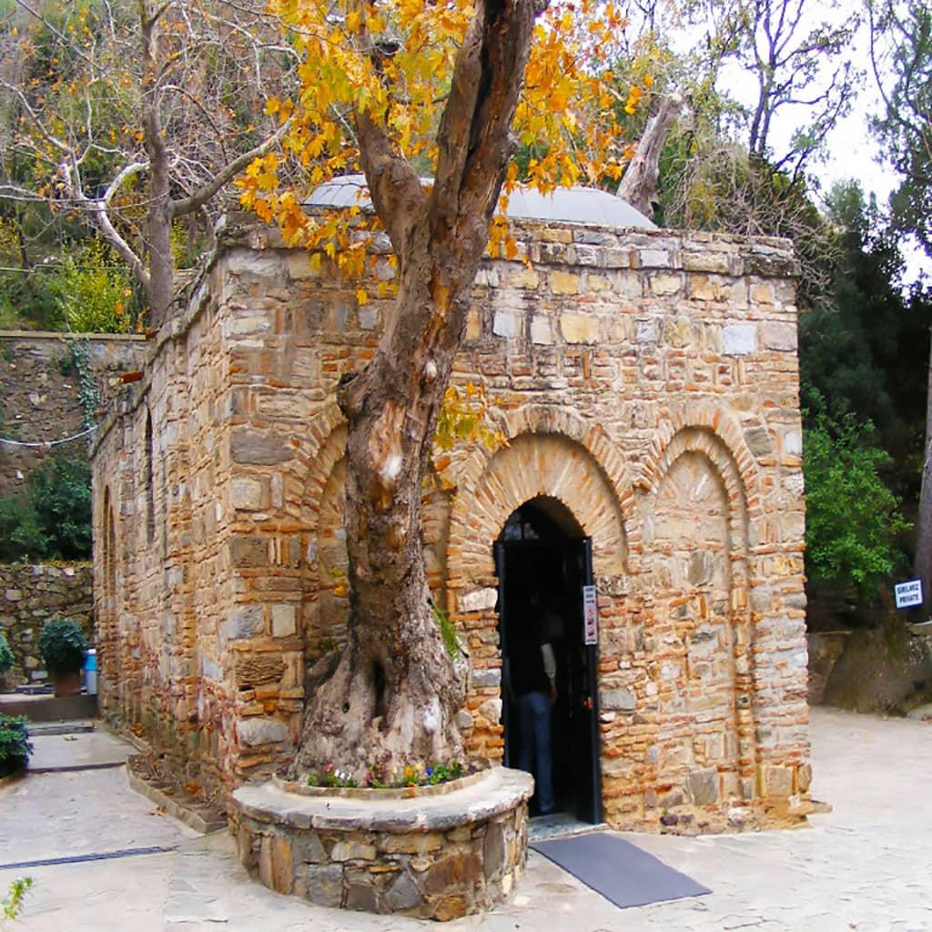 House of Virgin Mary in Turkey